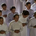 Chor im Cao Dai Tempel