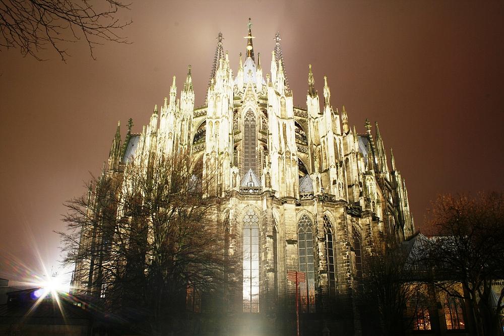 Chorabschluss von Osten, Kölner Dom (3) (24.02.2012)