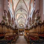 Chorgestühl im Kloster Bronnbach