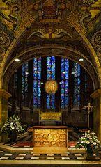 Chorhalle im Kaiserdom zu Aachen