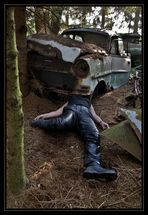 Chrash Test Dummie  - im Tal der toten Autos
