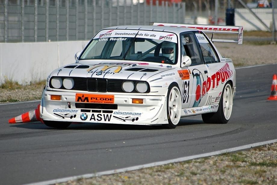 Christian Reuter aus Giessen auf BMW E30 / V8 (BMW M5-Motor)