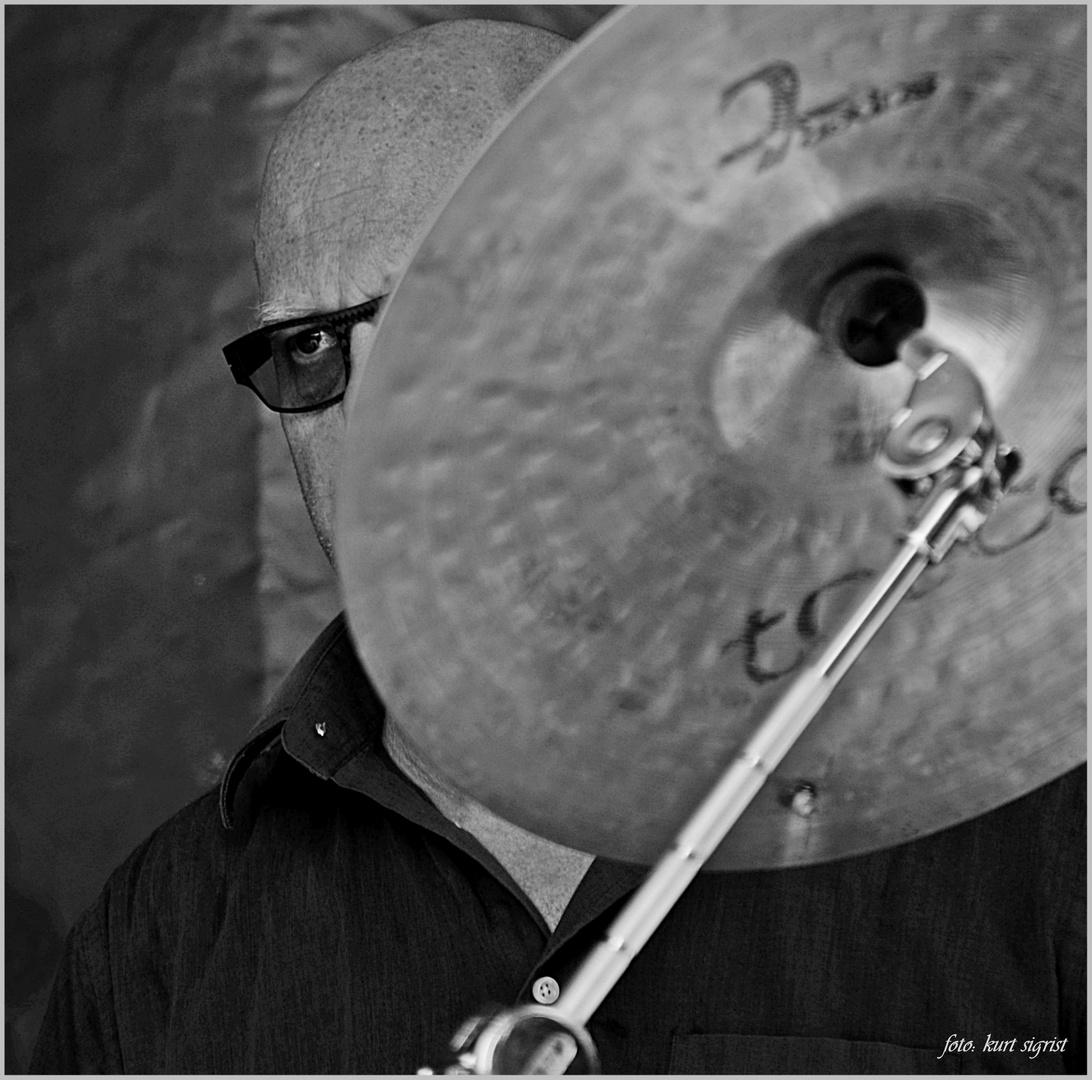 Christian Scheuber, Schlagzeug