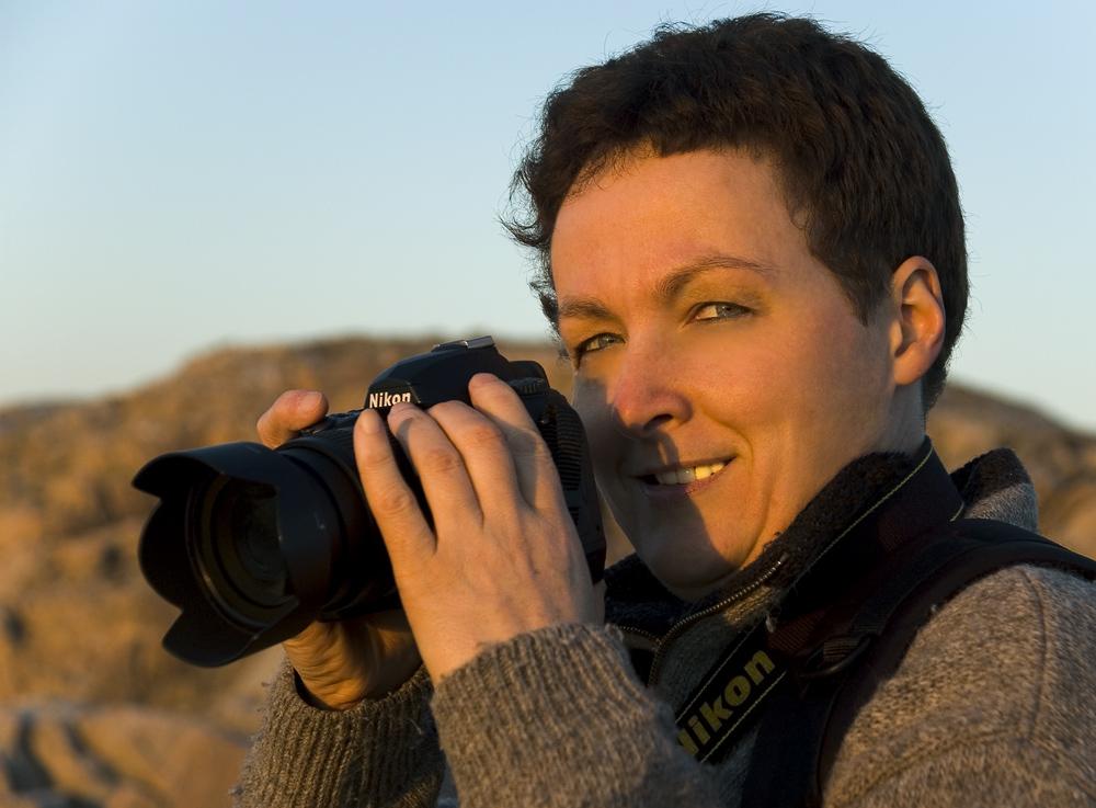 Christiane - ready to shoot...