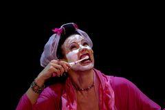 Christine Gogolin in pink moll