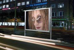 Christine in der Werbung ...