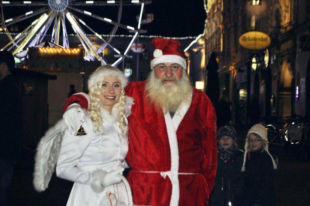 Christkind Weihnachtsmann
