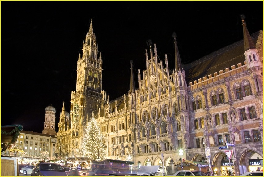 christkindlmarkt am marienplatz m nchen foto bild. Black Bedroom Furniture Sets. Home Design Ideas