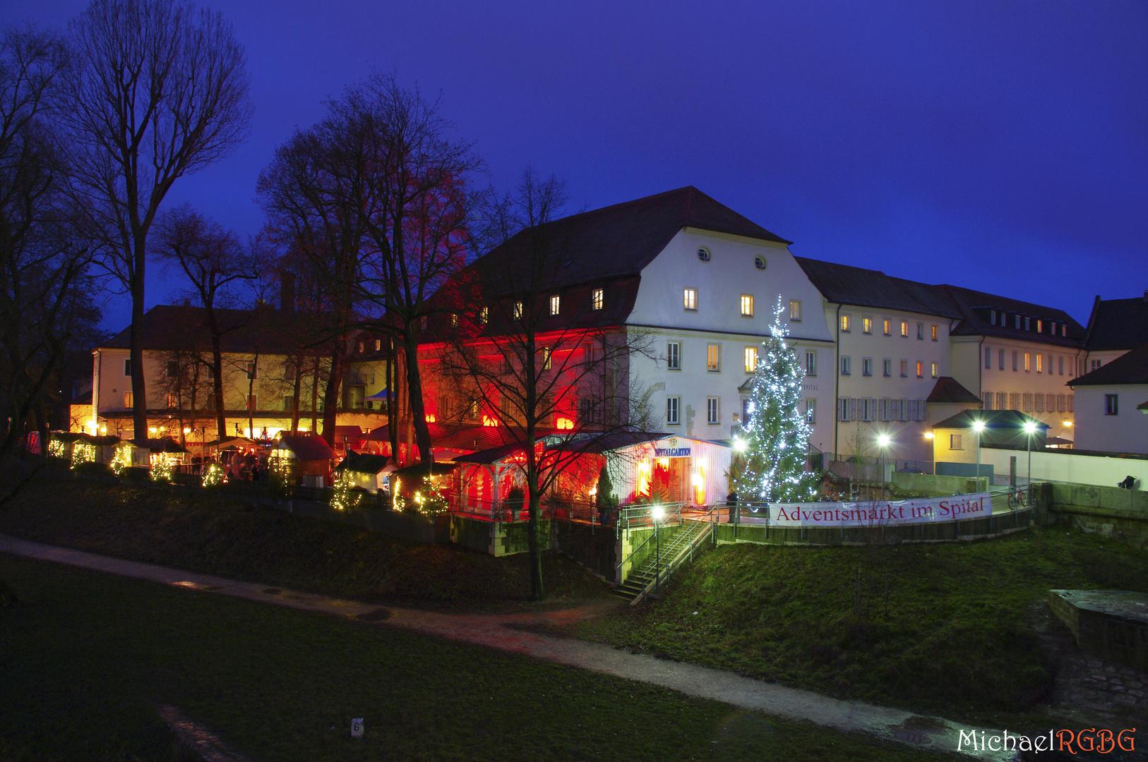 Christkindlmarkt Spitalgarten Regensburg