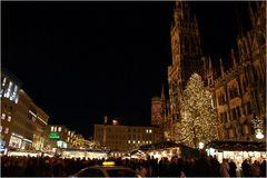 Christkindlmarkt, Marienplatz, München