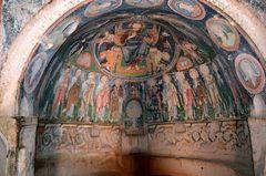 Christliche Malerei in der Hacli Kirche