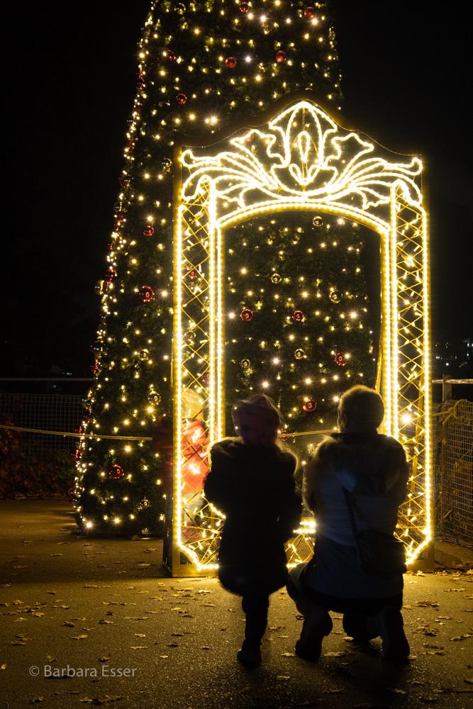 Christmas Garden in der Wilhelma, Stuttgart