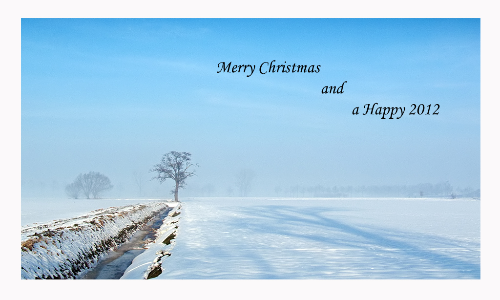 Christmas Greetings from Holland.