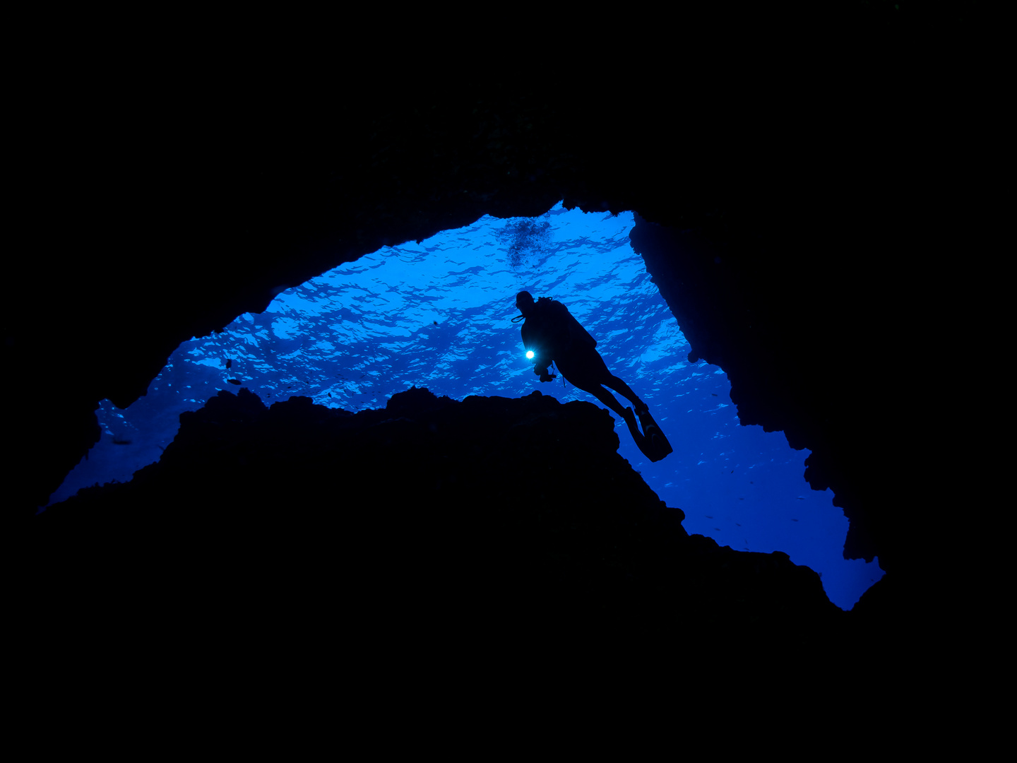 Christmas Island Cave Dive