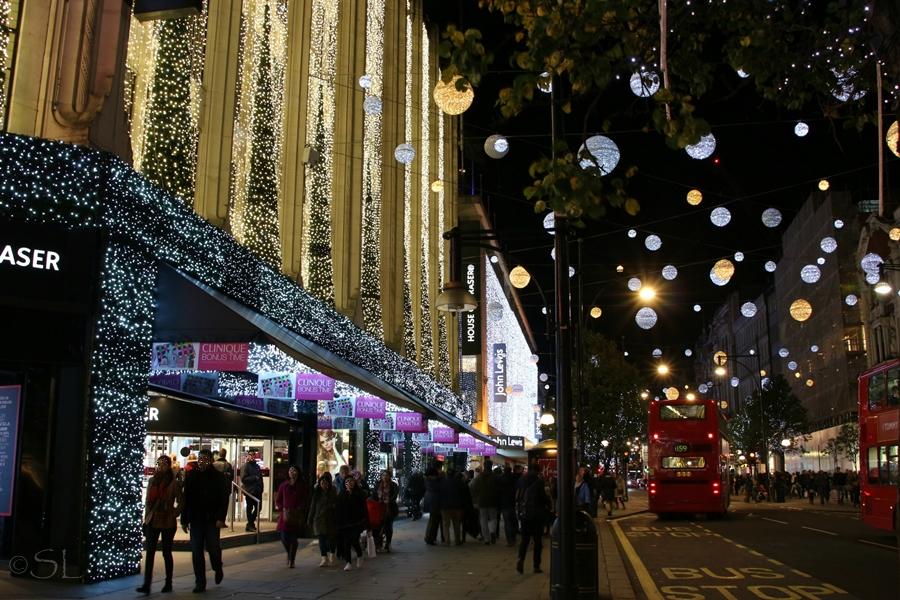 Christmas-Shopping in der Oxfordstreet Foto & Bild | europe, united ...