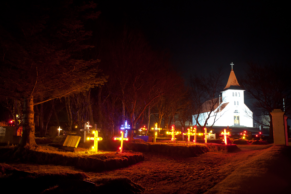 Christmaslights for all......Iceland