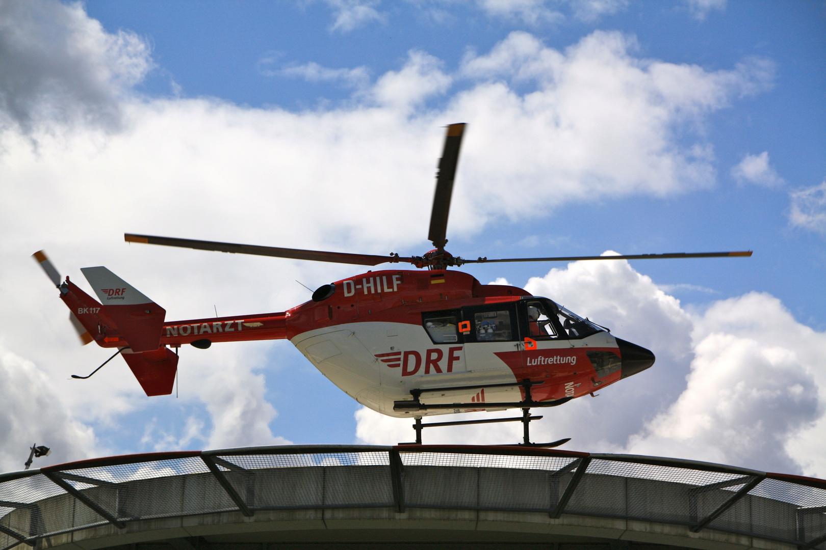 Karlsruhe Hubschrauber