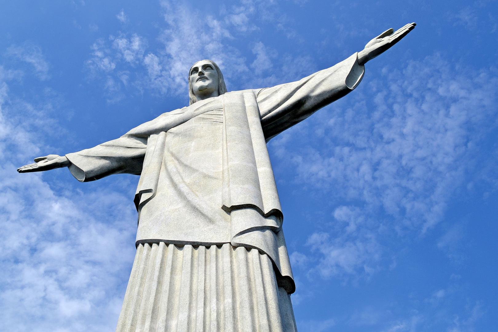 Christusstatue In Rio De Janeiro Foto Bild South America Brazil