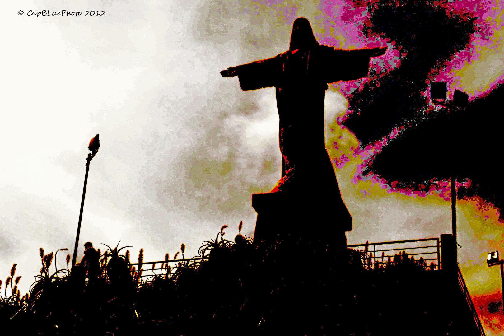 Christusstatue von Garajau