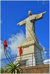 - Christusstatue von Garaujau -