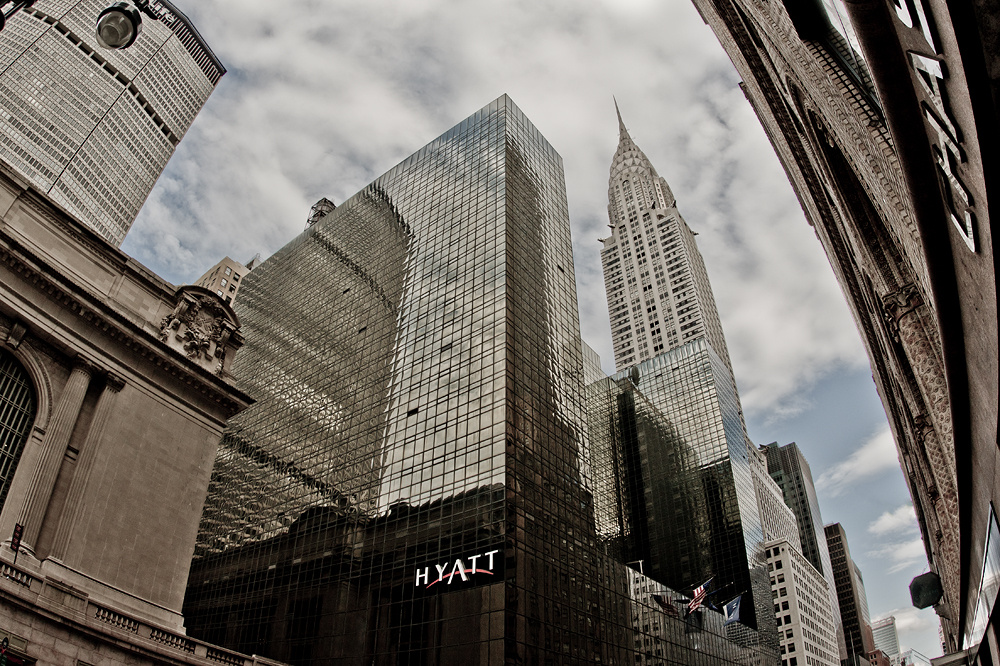 - Chrysler Building at the Hyatt -