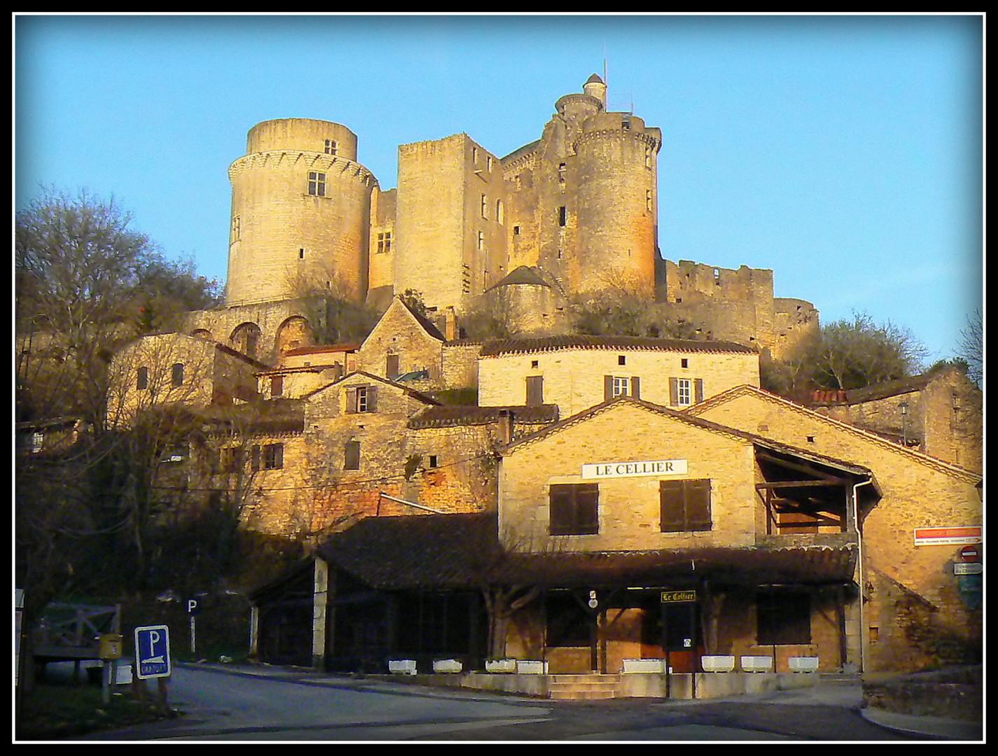 Château de Bonaguil .