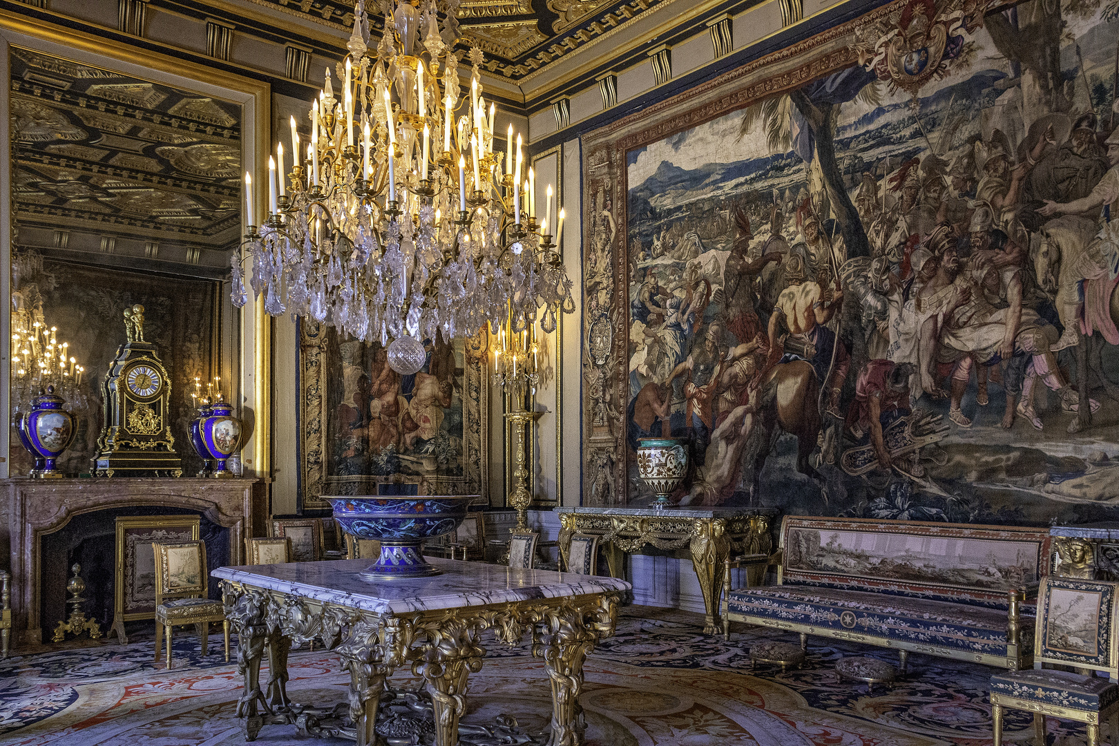 Château  de Fontainebleau .