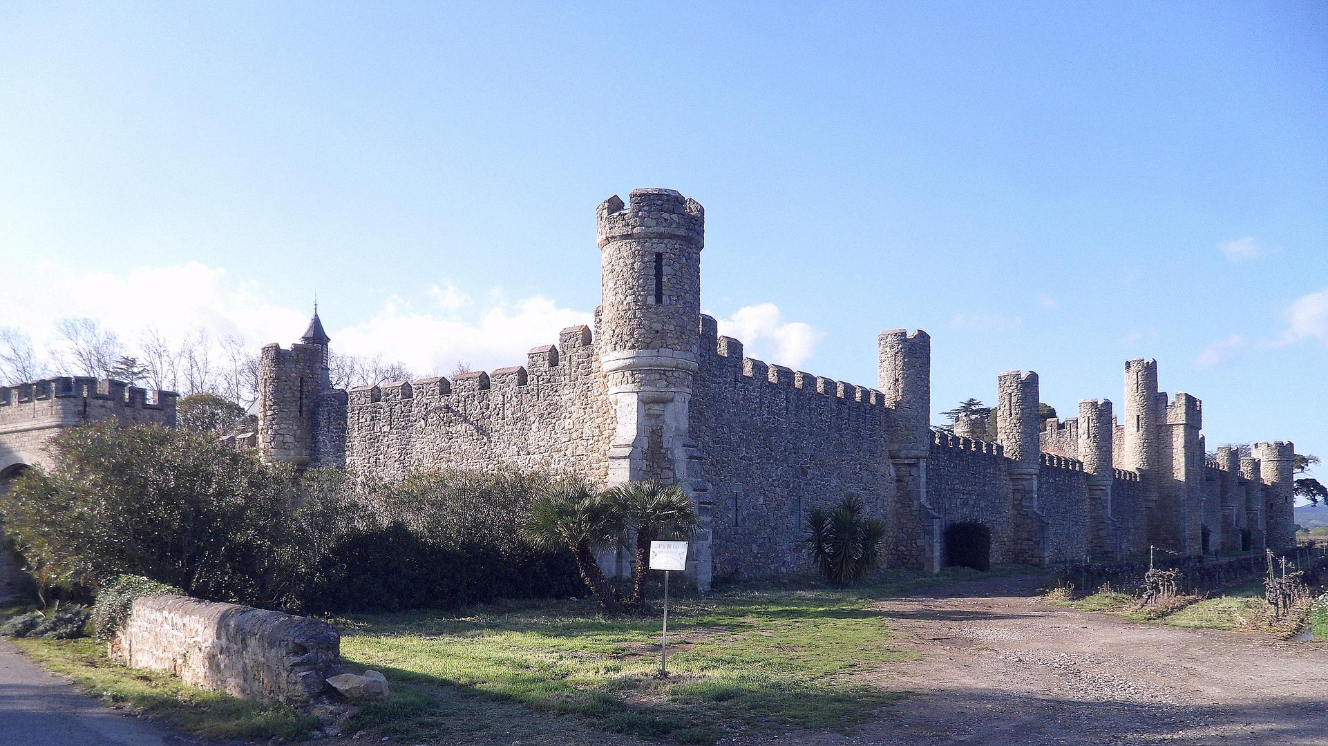 Château de Grezan ...