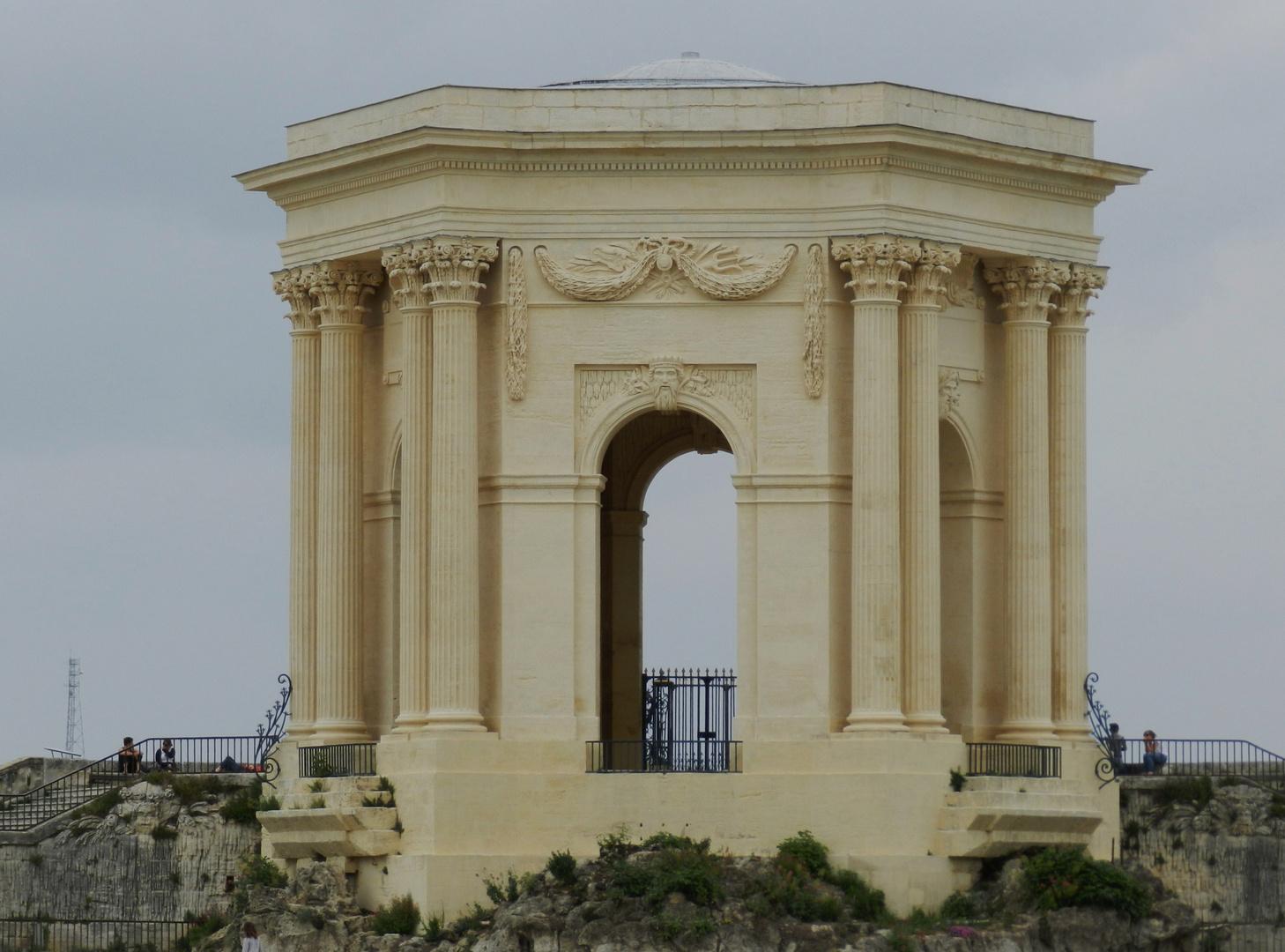 château d'eau centre de Montpellier !