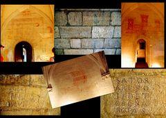 Château du Roi René, Tarascon - les graffitis ....