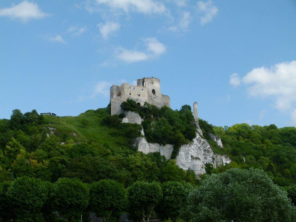 Château Gaillard   bei Andelys
