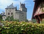 Château sur le lac d'Annecy