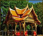 Chulalongkornbrunnen im Kurpark von Bad Homburg vor der Höhe