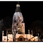 church @ night