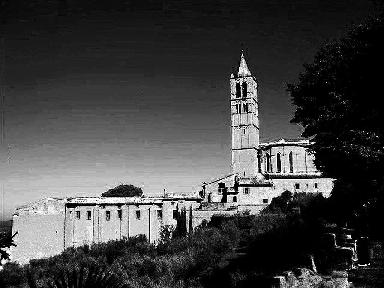 CHURCH OF STA cHIARA - ASSISI - UMBRIA