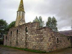 Church ruin at Ghillies Rest
