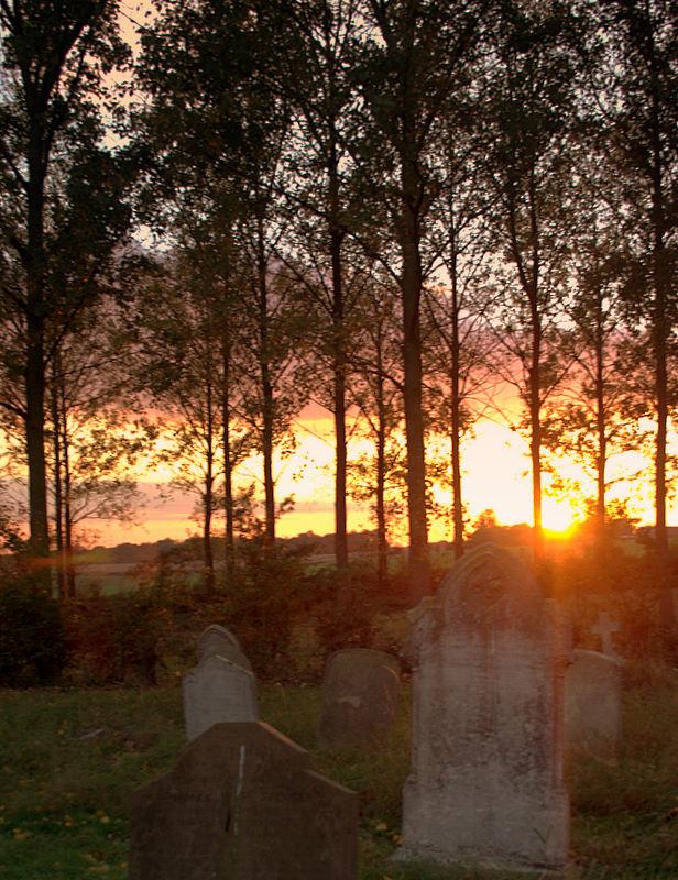 church sundown