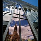 Church thru window...