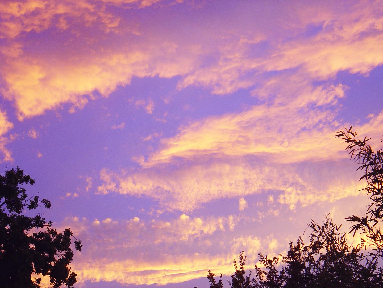 Ciel d'octobre…dans le Gers