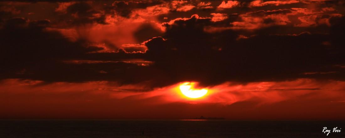 ciel en feu