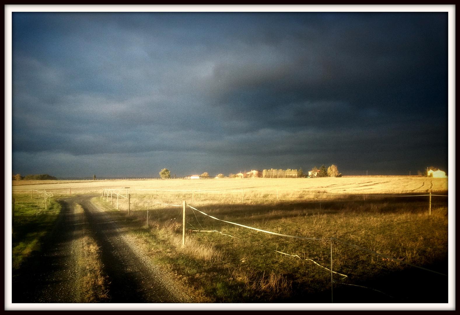 Ciel sur Gaillac