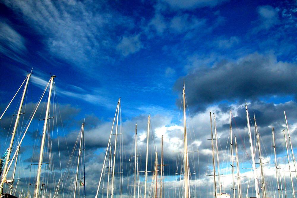 cielo blu-blu