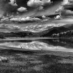 Cielo chiassoso sul lago