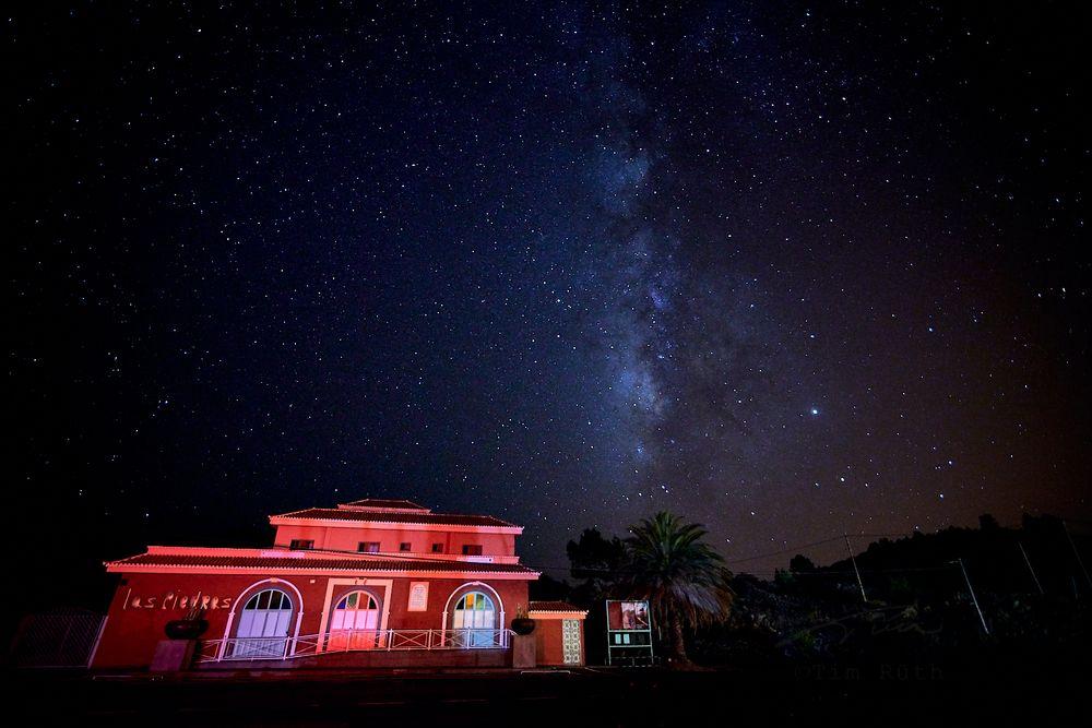 Cielo nocturno de La Palma (II)
