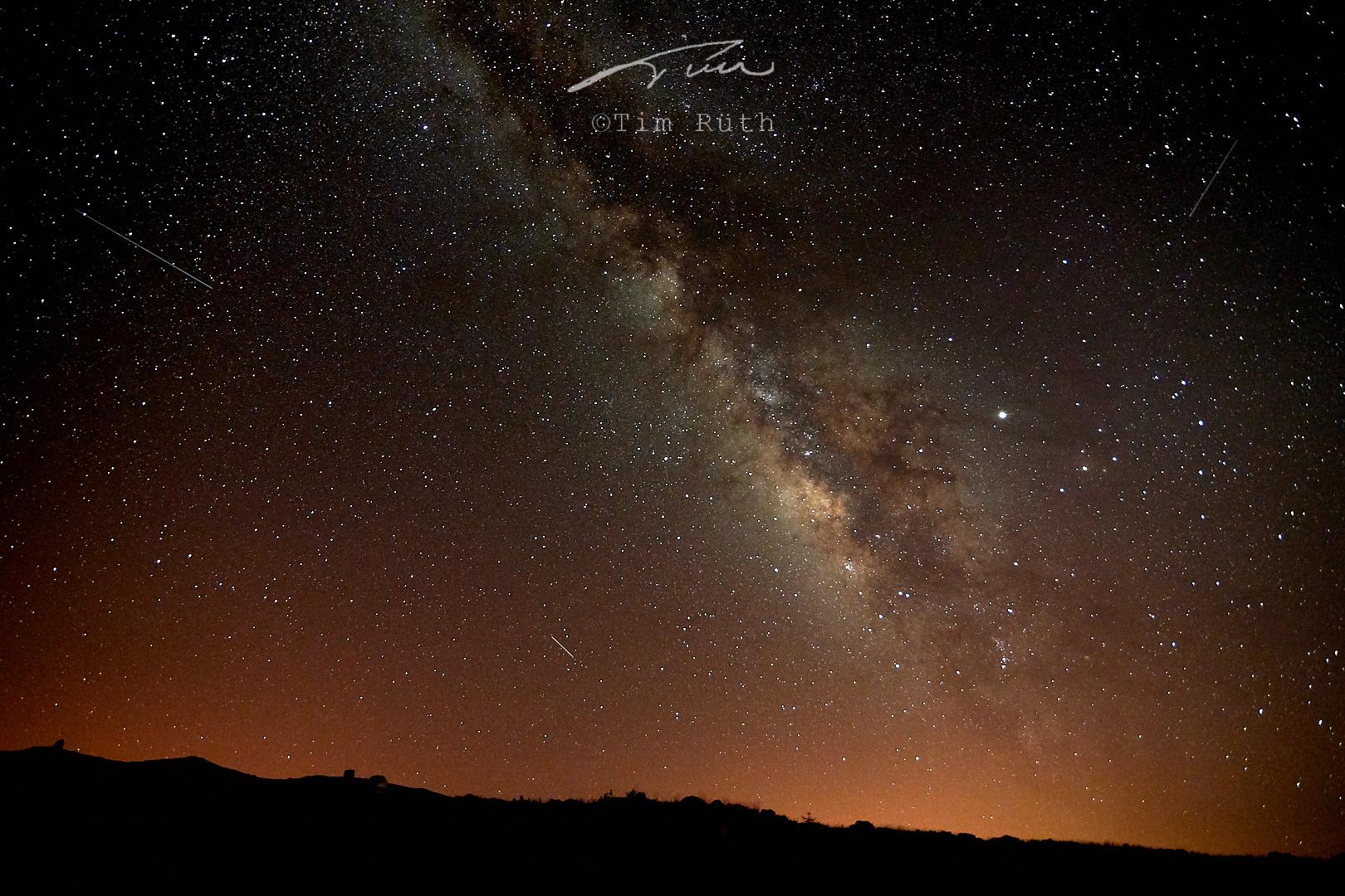 Cielo nocturno de La Palma (III)