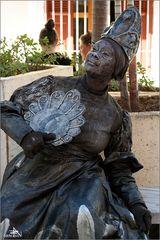 Cienfuegos - Statue vivante