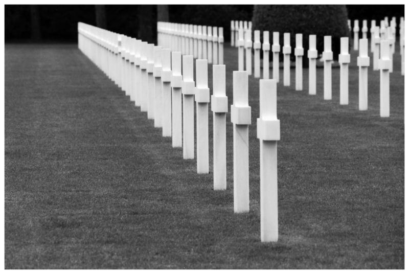 Cimetiere American de Normandie...Colleville sur Mer/ am Omaha Beach