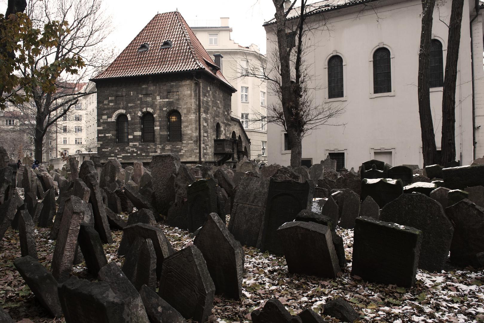 cimitero ebraico,Praga.
