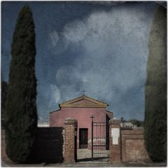cimitero gaiana (simulazione di autochrome)