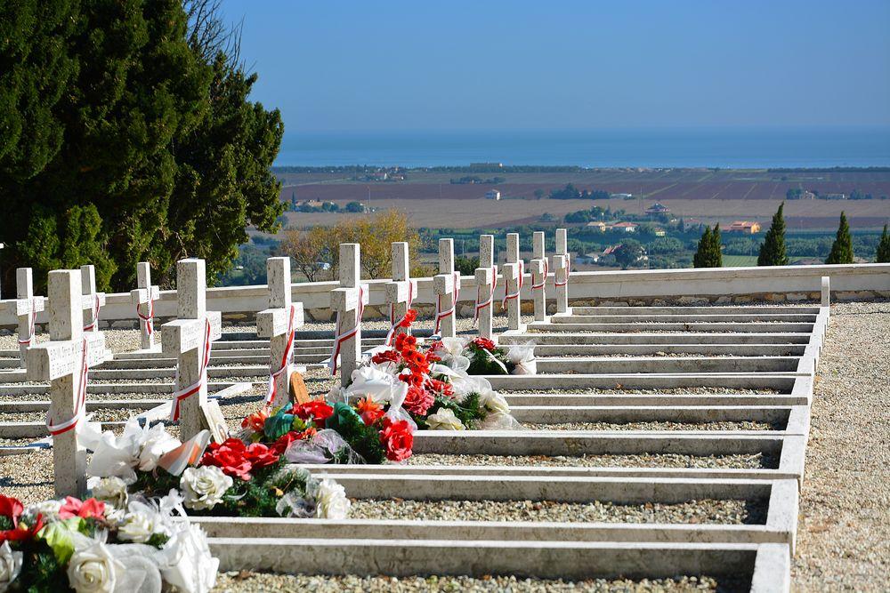 Cimitero militare polacco.